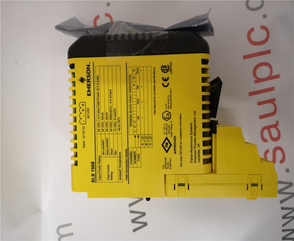 EMERSON 12P3162X162 SLS1508  Module