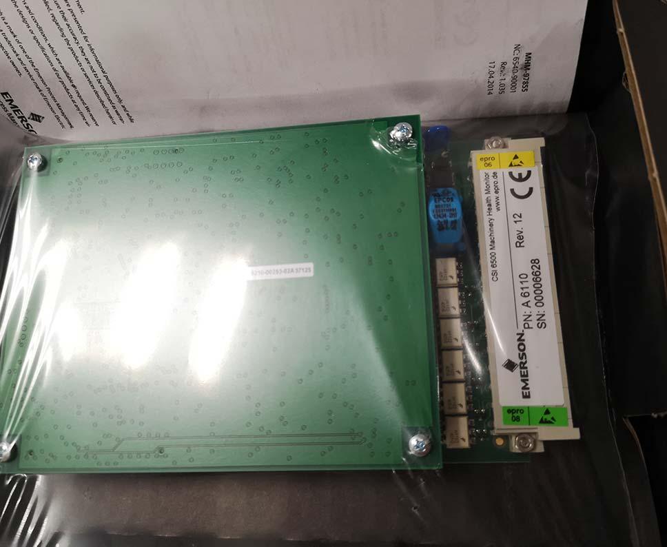 Emerson A6100 CSI 6500 Machinery Health Monitor