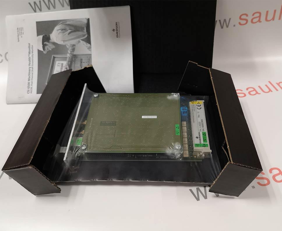 Emerson A6220 CSI 6500 Machinery Health Monitor