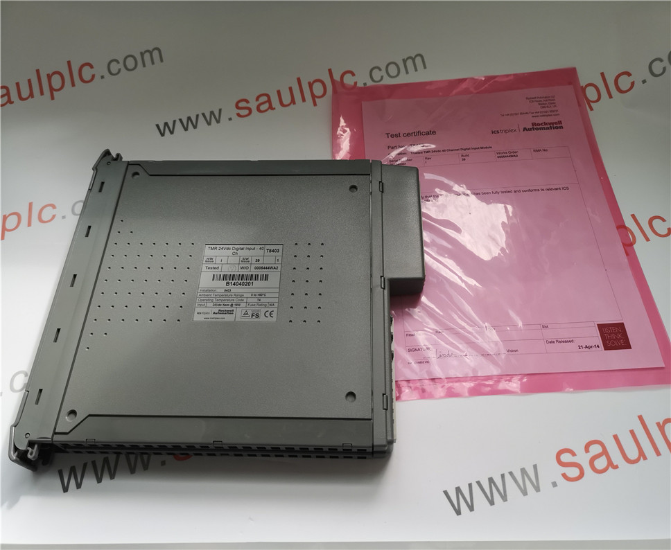 Ics Triplex  T8403 Tmr 24Vdc 40 Channel Digital  Input Module