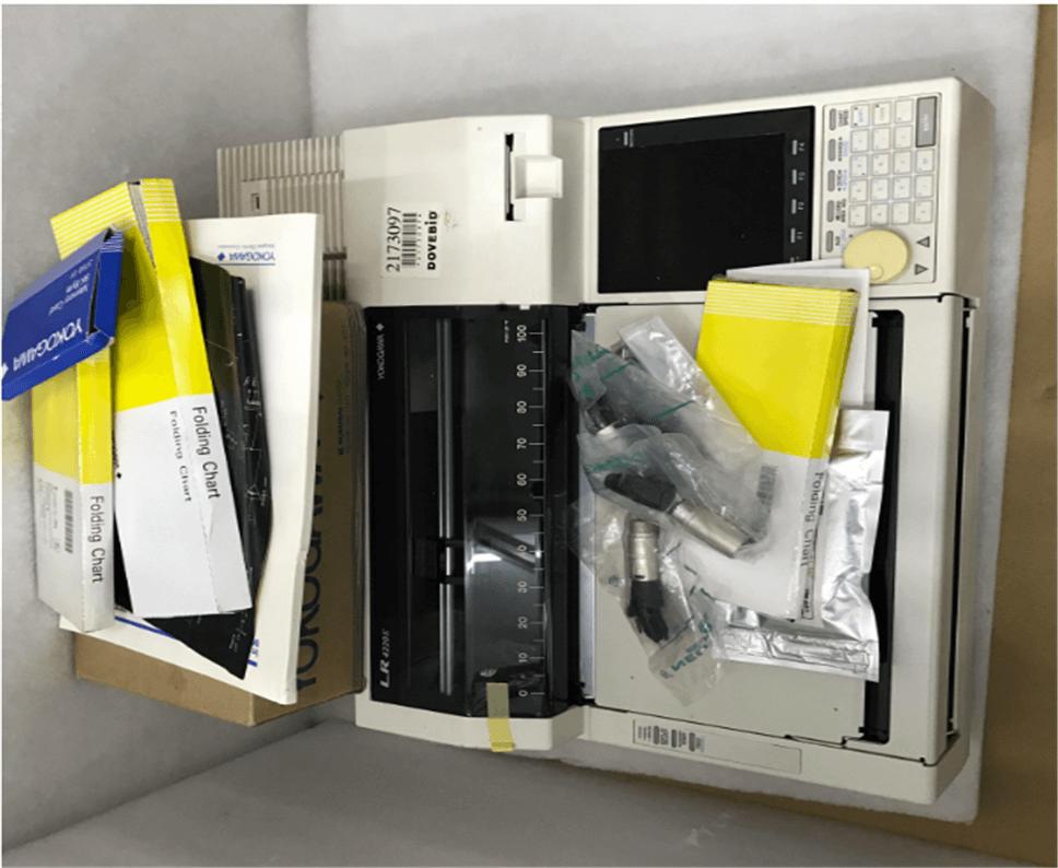 YOKOGAWA LR 4220E Multiple Pen Recorder