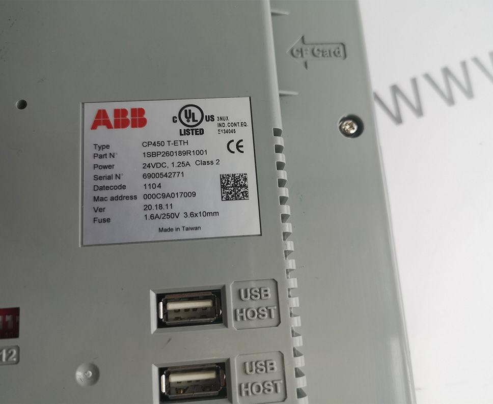 ABB CP450 T-ETH 1SBP260189R1001 Module