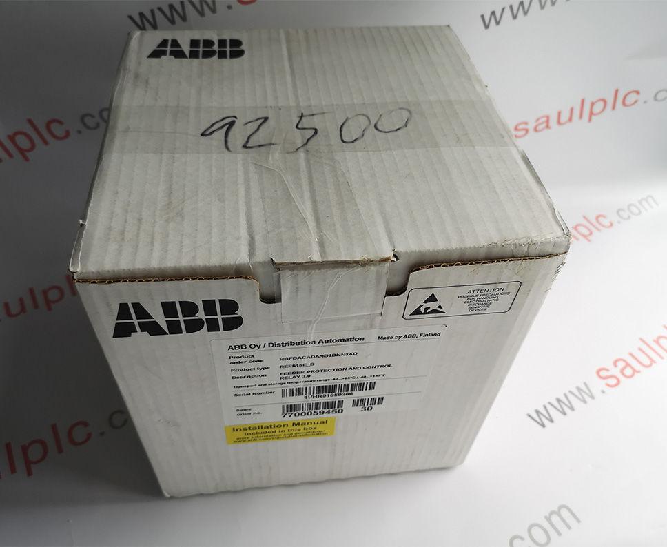 ABB REF615E-D HBFDACADANB1BNN1XD7700059450  Module