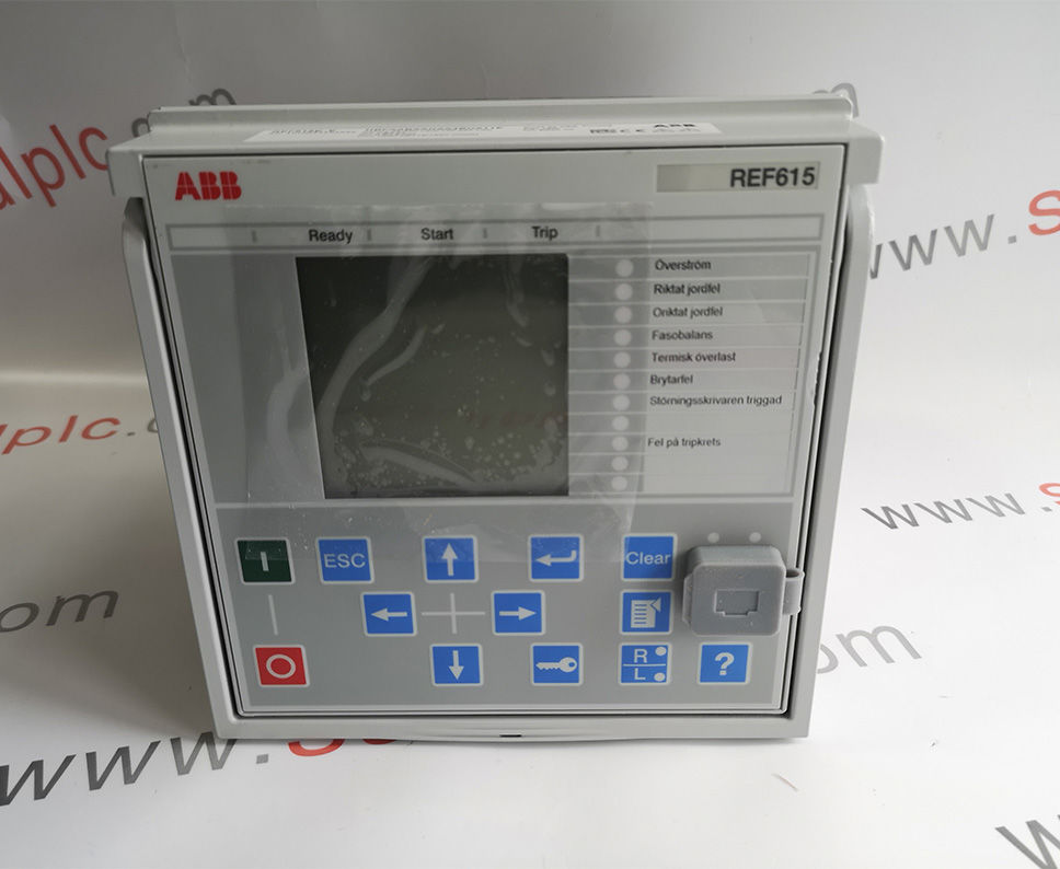 ABB REF615E-E HBFAABAANAA4BNA11E7700080612 Module